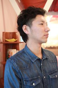 高円寺 中野 メンズ ツーブロック パーマ